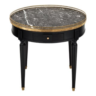 Saint Anne Marble Topped Bouillotte Table For Sale