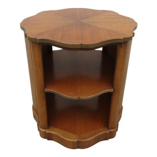 Henredon Open-Sided Drum Table For Sale