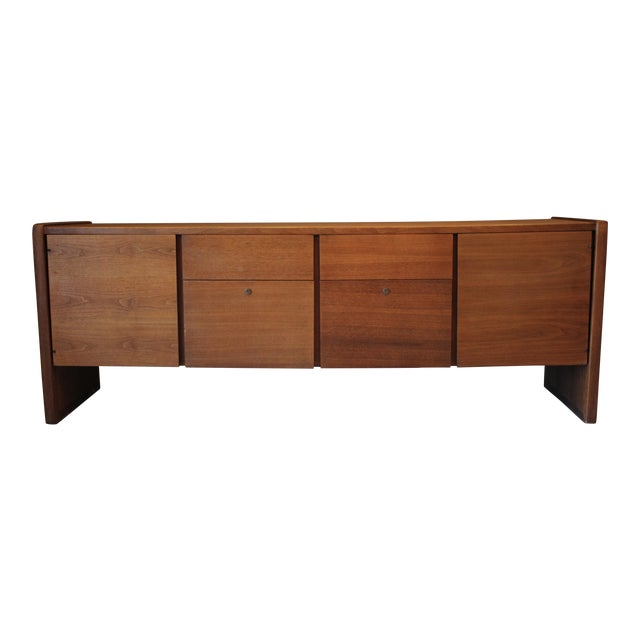 Mid-Century Modern, Teak Credenza Attributed to Milo Baughman - Image 1 of 11