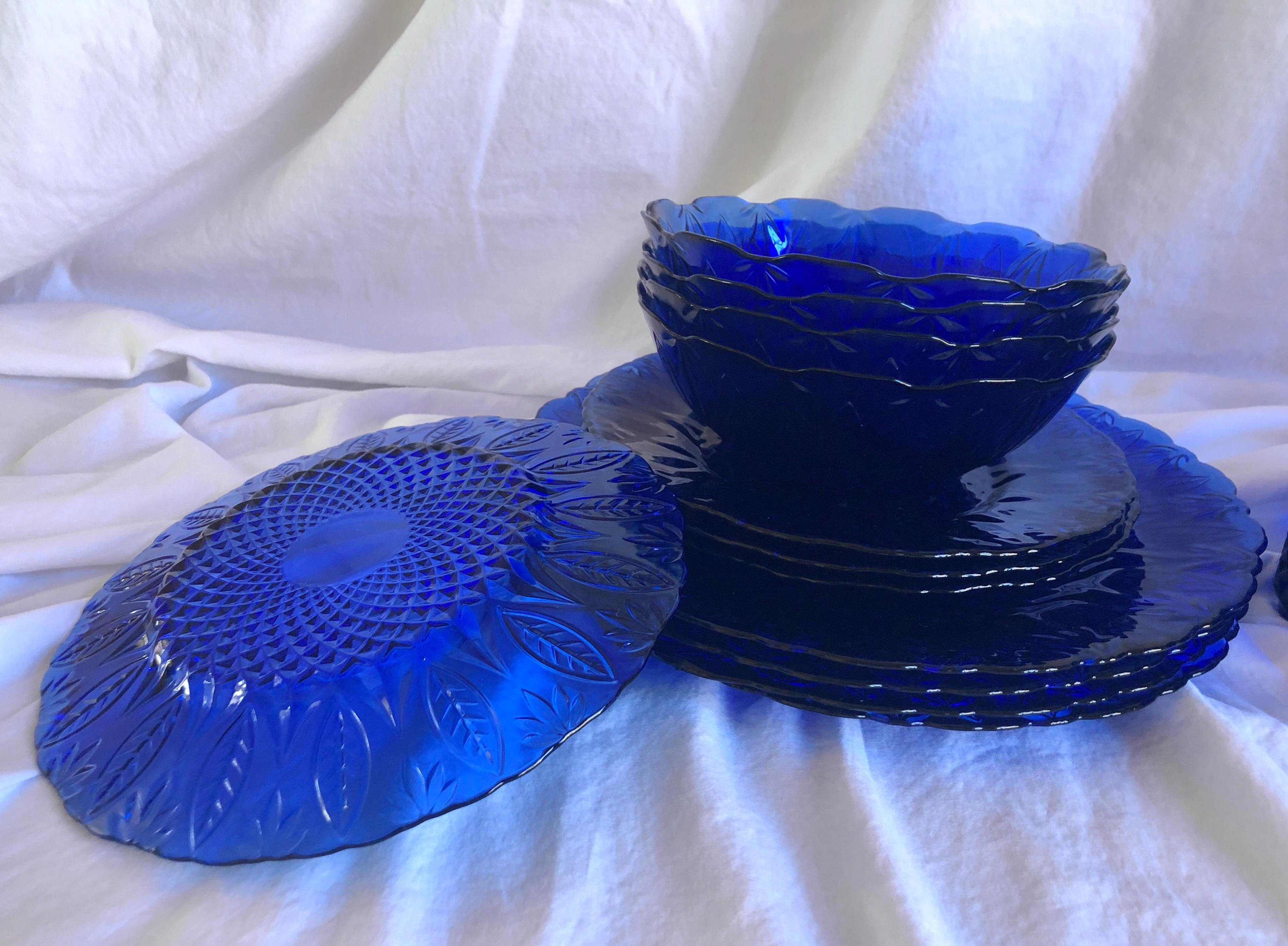 "Avon Royal Saphire 10 5//8/"" dinner plate"