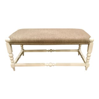 Lazy Susan Julianne Ottoman For Sale