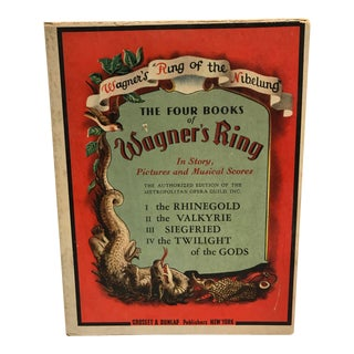 "1939 Wagner's ""Ring of the Nibelung"" Boxed Set For Sale"