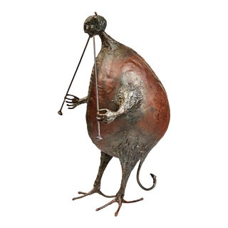 """Pan"" Sculpture by Michel Anasse For Sale"