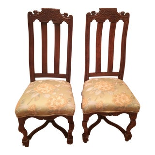 Mid 19th Century Vintage Side Chairs - A Pair For Sale