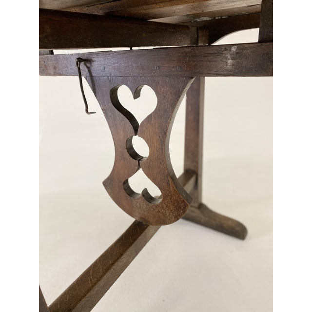 Wood 18th C. French Vendage Table For Sale - Image 7 of 11