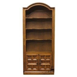 Late 20th Century Vintage Century Furniture Cortez Collection Cabinet Bookcase For Sale