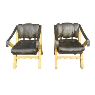 Mid Century Mexican Design Lounge Chairs For Sale