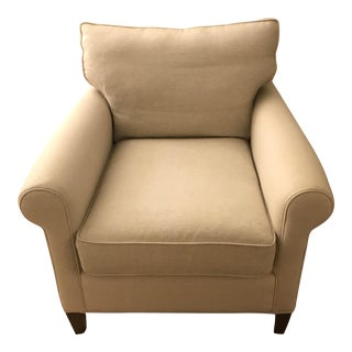 Crate & Barrel Club Chair