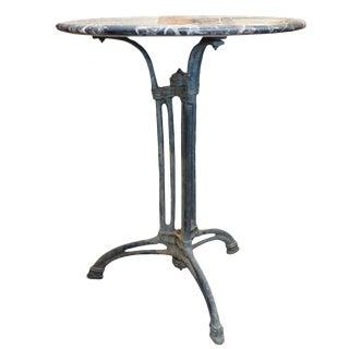 Iron Base Table