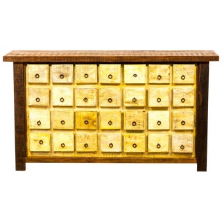 Apothecary Cabinet Eco-Friendly Reclaimed Solid Wood