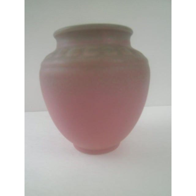 Rookwood Art Pottery Vase - Rose & Green 1935 - Image 7 of 7