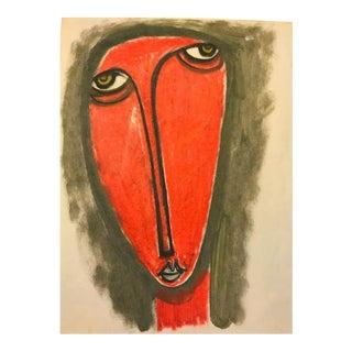 Red Face Man by Lennie Kesl, 1952