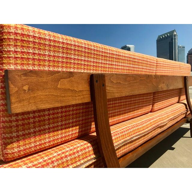 Mid-Century Formica Platform Sofa For Sale - Image 9 of 11