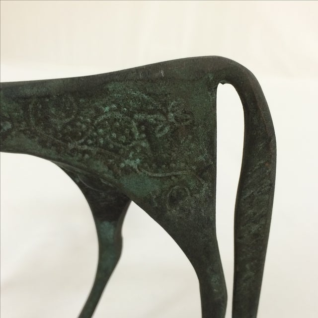 Bronze Etruscan Horse - Image 4 of 9