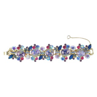 Juliana Rhinestone Bracelet For Sale