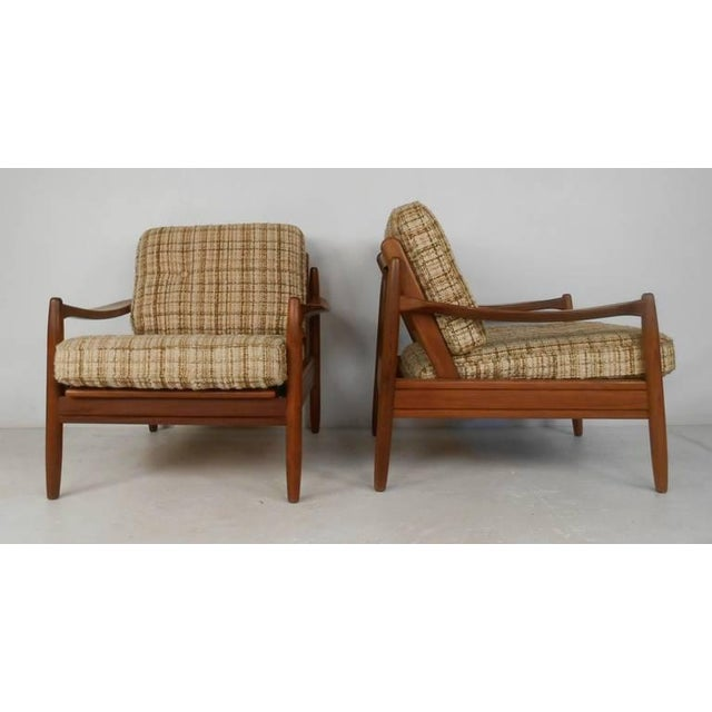Mid-Century Modern Scandinavian Modern Sofa and Chairs For Sale - Image 3 of 8