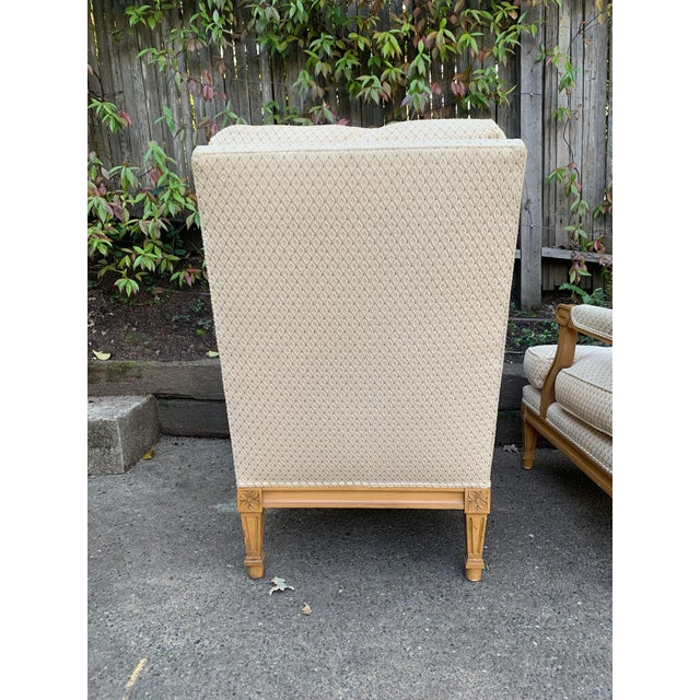 Nancy Corzine Nancy Corzine Upholstered Chairs - a Pair For Sale - Image 4 of 7