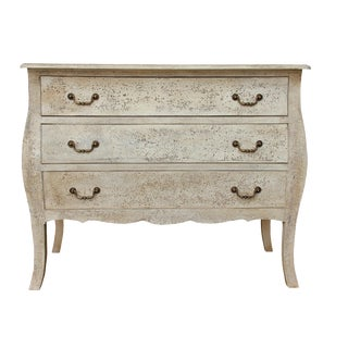 Carina Three Drawer Chest With Curved Legs For Sale