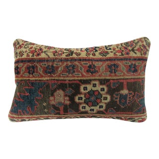 Antique Turkish Decorative Pillow Cover - 12ʺW × 20ʺH For Sale