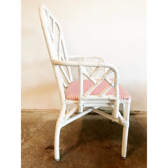 1960s Chippendale Rattan Chairs- Set of 6 For Sale - Image 9 of 10