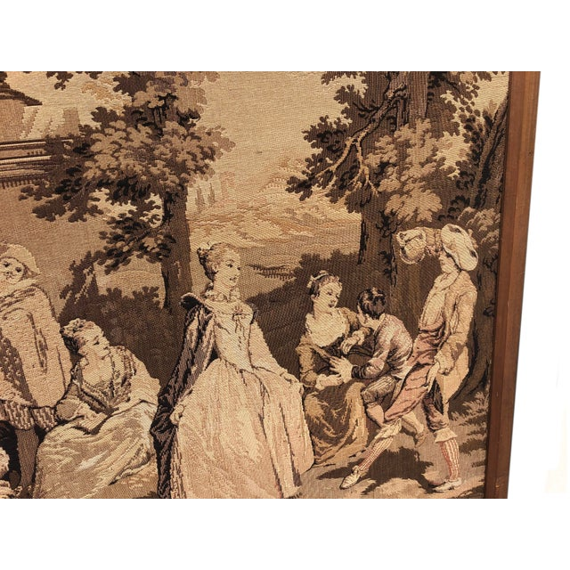 19th Century 19th Century French Tapestries - a Pair For Sale - Image 5 of 11