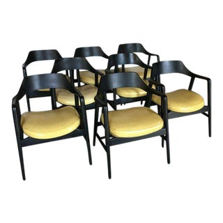 Gunlocke Dining Chairs - Set of 8 For Sale