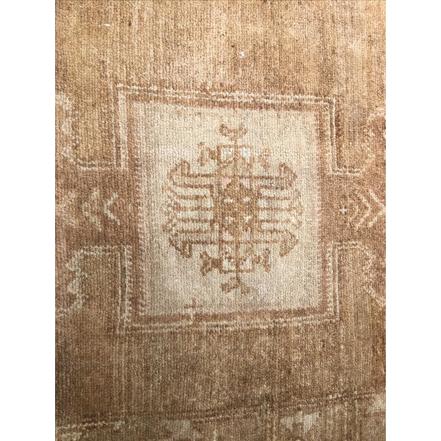 "Vintage Turkish Oushak Rug - 7'3"" x 11'4"". - Image 5 of 8"