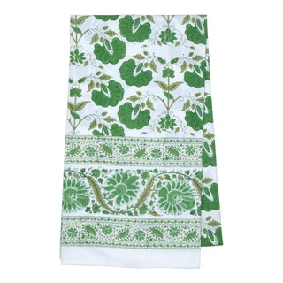 Janvi Tablecloth, 6-seat table - Green For Sale