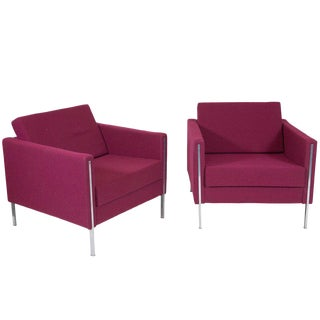 Pierre Paulin 442 Fauteuils - A Pair For Sale