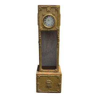 European Grandfather Clock For Sale