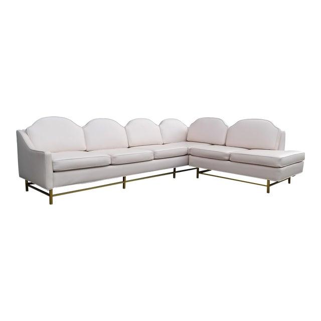 "Kipp Stewart and Stewart McDougall Mid-Century Modern ""Suncoast"" Sectional Sofa For Sale"