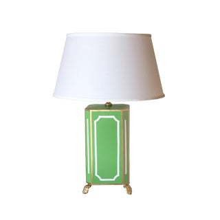 Dana Gibson Devon Green Table Lamp For Sale