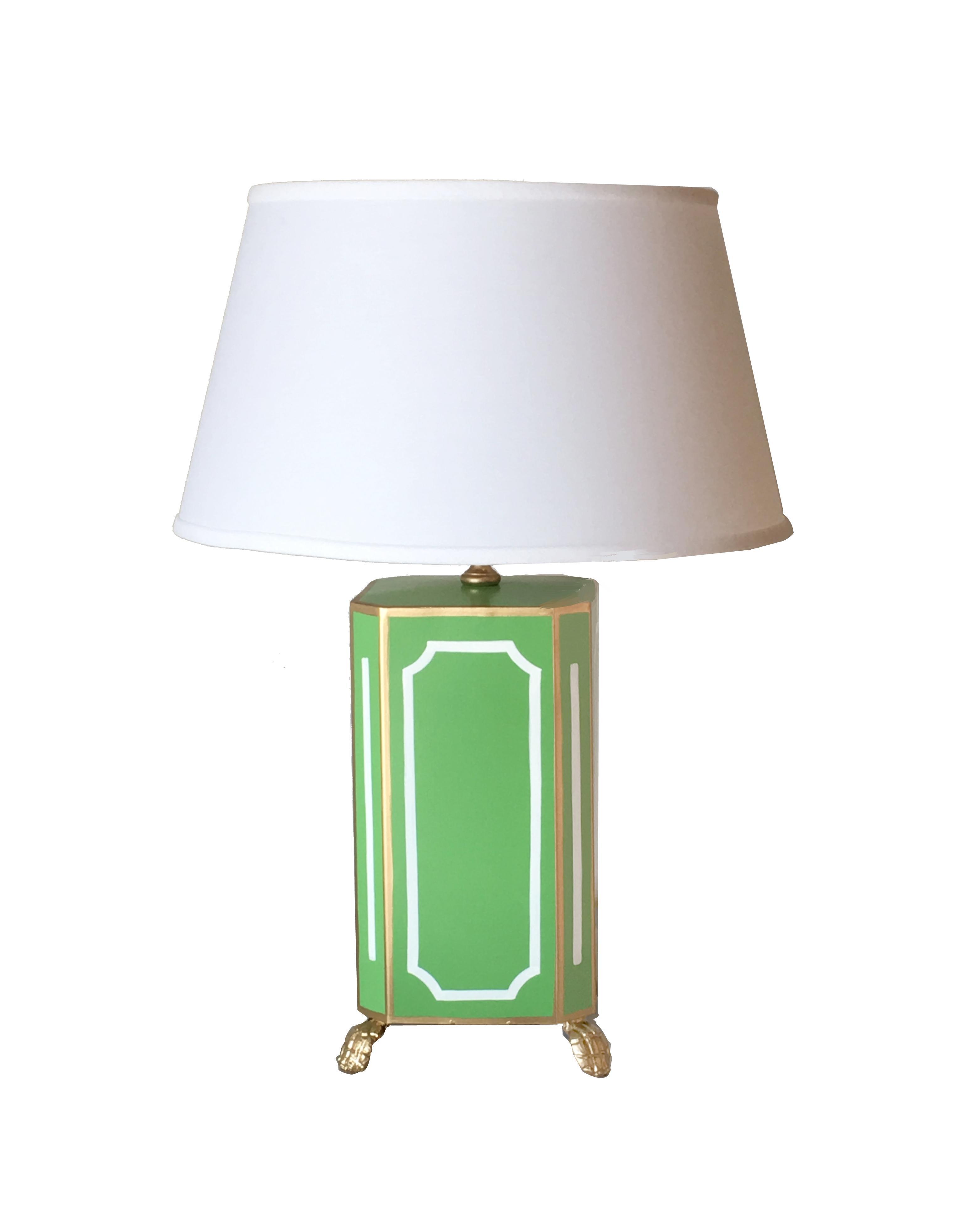 Dana Gibson Devon Green Table Lamp
