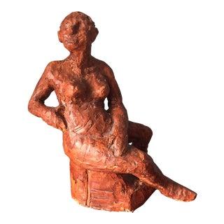 Clay Female Sculpture