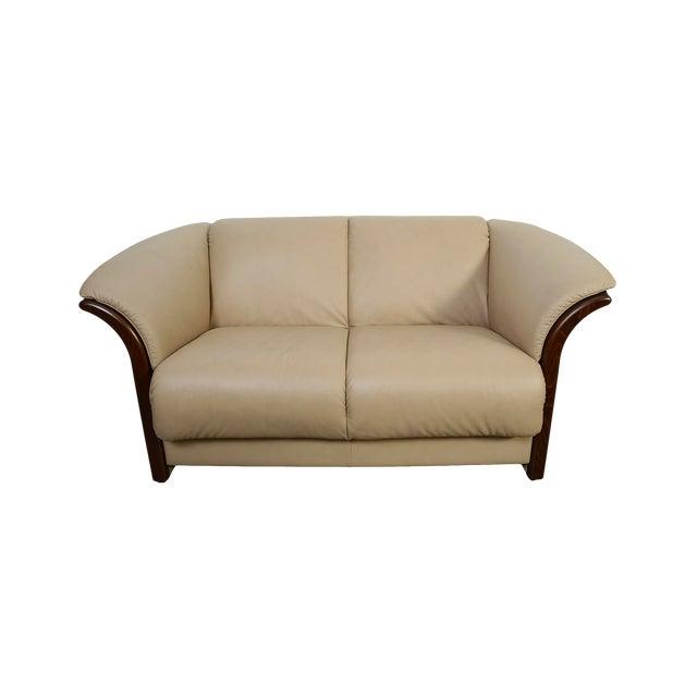 Modern Leather Ekornes Stressless Settee Sofa