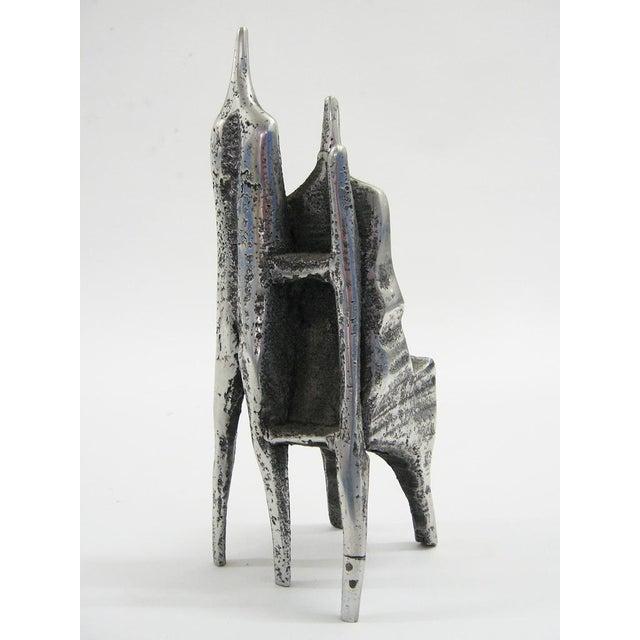 Aluminum sculpture by Aharon Bezalel - Image 5 of 8
