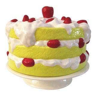 Vintage Strawberry Shortcake Cake Plate For Sale