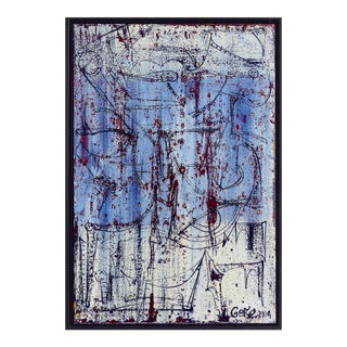 Alexander Gore Abstract Oil Painting on Belgian Linen For Sale