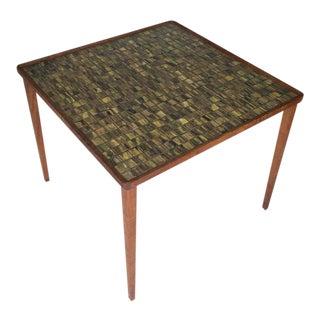 1960s Mid Century Modern Gordon and Jane Martz for Marshall Studios Tile Mosaic Table