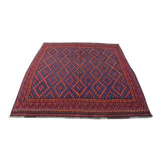 Vintage Afghan Kilim Rug For Sale