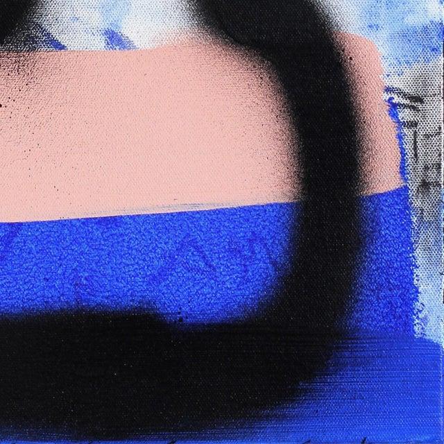 "2010s Sarah Svetlana ""Finally Sat at the Cool Kids Table"" Original Painting For Sale - Image 5 of 9"