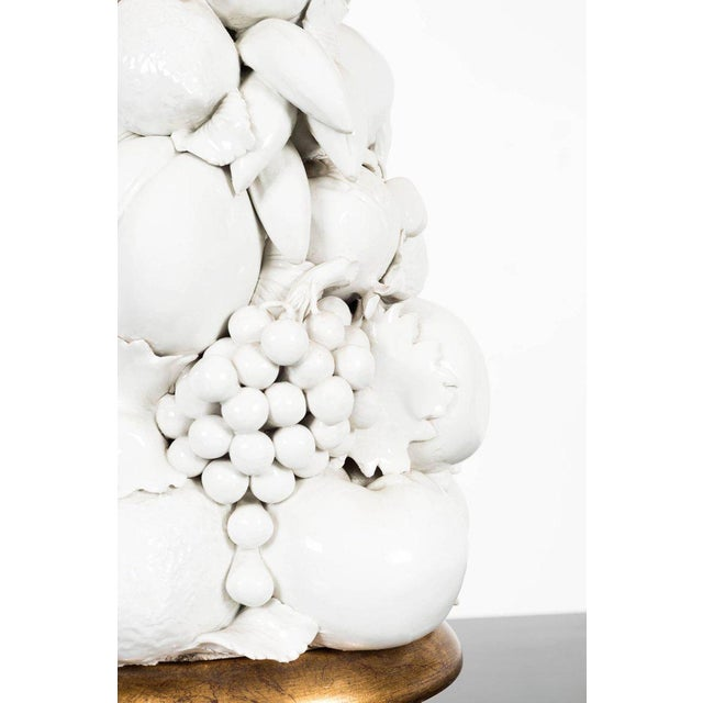 Arturo Pani Pair of Fruit Lamps For Sale In New York - Image 6 of 7