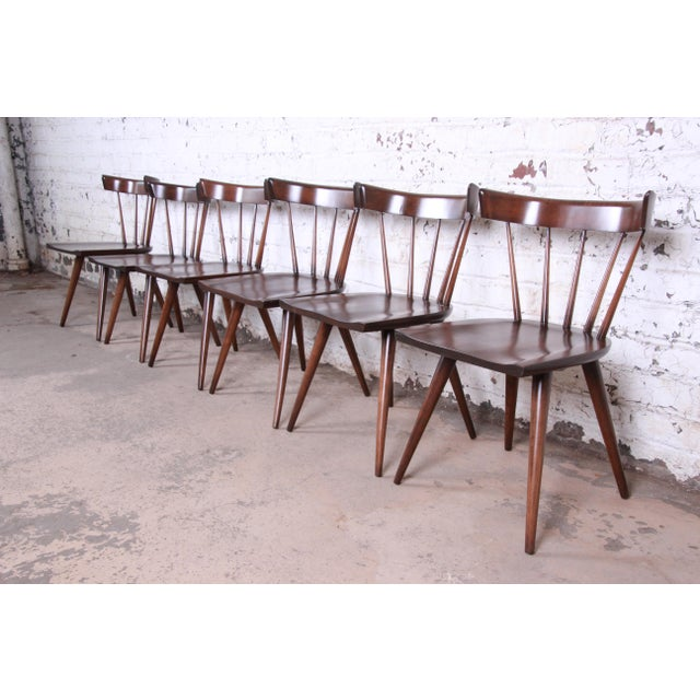 Paul McCobb Planner Group Mid-Century Modern Dining Set, Newly Restored For Sale - Image 11 of 13
