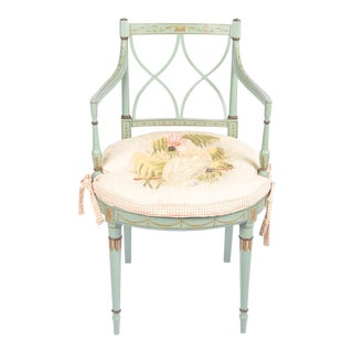 Shabby Chic Vintage Accent Chair