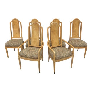 Vintage Modern Dining Chairs by Henredon- Set of Six For Sale