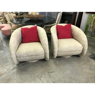1970s Vintage Kagan Swivel Chairs- A Pair Preview