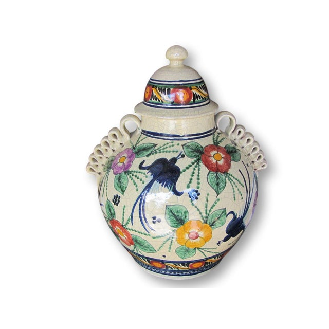 Mexican Pottery Decorative Jar - Image 2 of 9