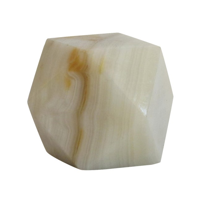 Geometric Onyx Paperweight - Image 1 of 5
