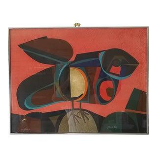 "1950s Josep Maria Garcia Llort "" La Paloma "" Serigraph 102 / 260 For Sale"