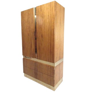 Mid-Century Milo Baughman for Thayer Coggin Rosewood Wardrobe For Sale